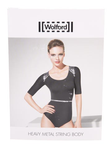 Clearance Sale Online Wolford Heavy Metal String Bodysuit w/ Tags Cheap Sale Pay With Paypal Best Place 1tE988L