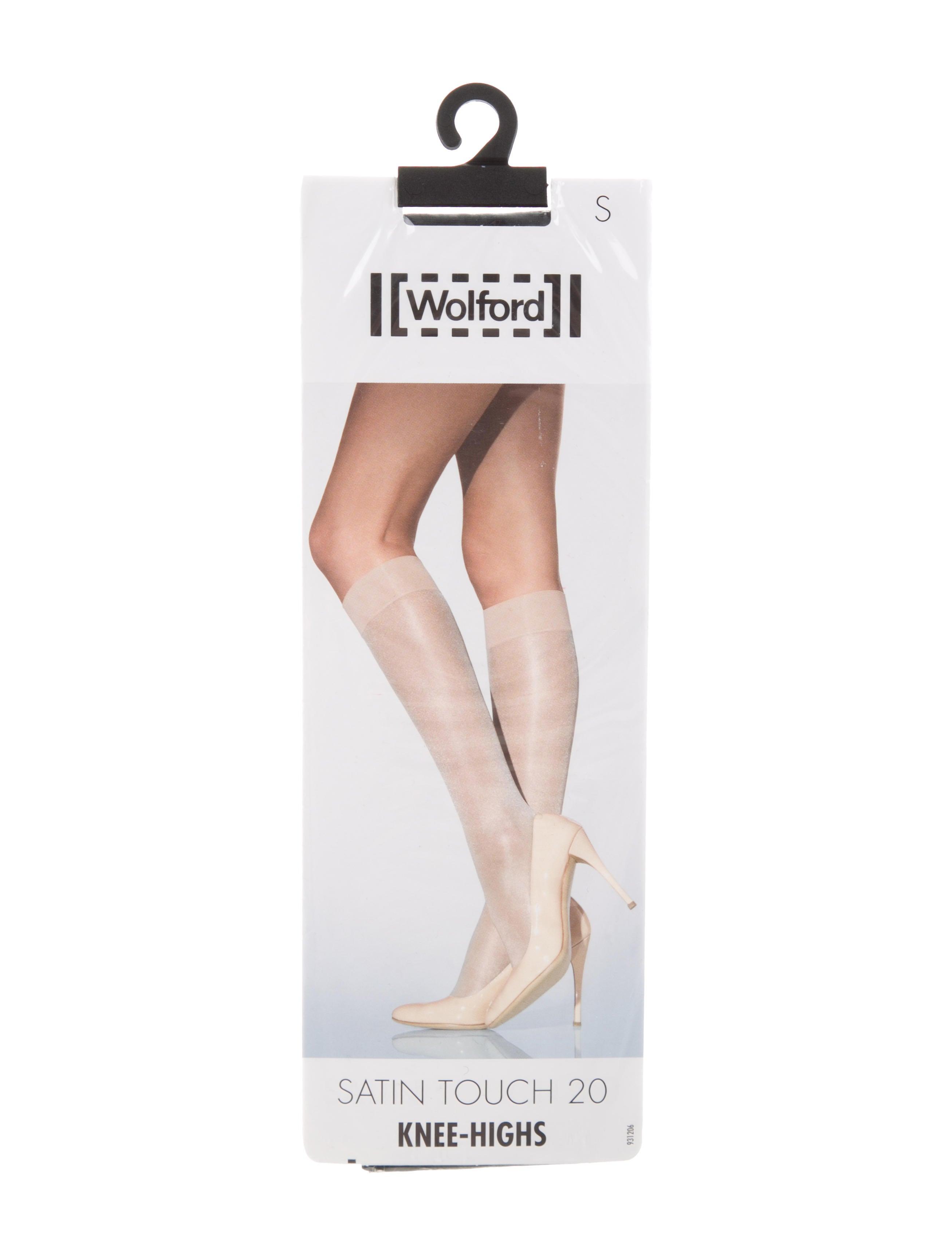 efbaf892b31 Wolford Satin Touch 20 Knee-High Socks w  Tags - Accessories ...