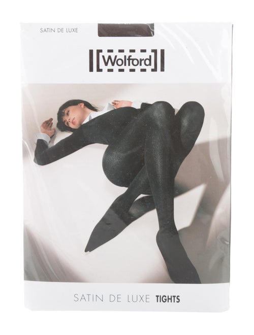 7c5b7452bd3 Wolford Satin De Luxe Tights w  Tags - Accessories - WWF23774