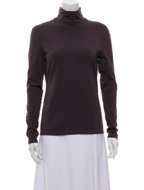 Wolford Turtleneck Long Sleeve Sweatshirt Grey