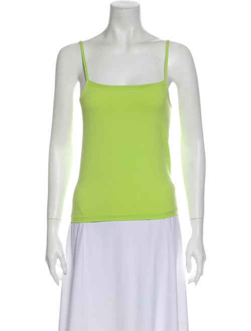 Wolford Square Neckline Sleeveless Top Green - image 1