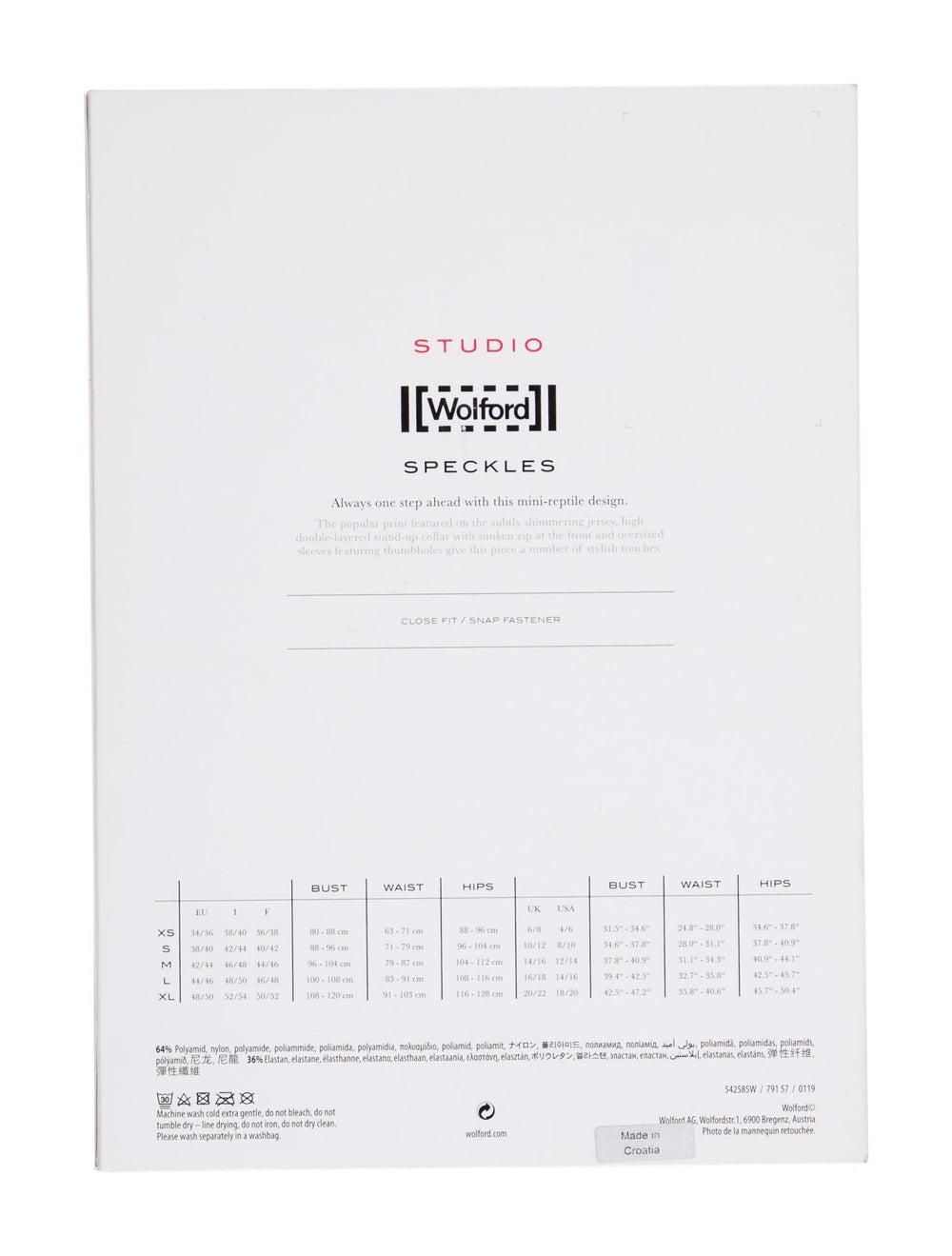 Wolford Speckles Printed Bodysuit Black - image 2