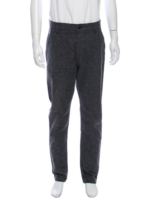 Wings + Horns Printed Pants Grey