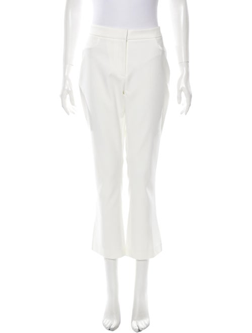 White Story Straight Leg Pants White