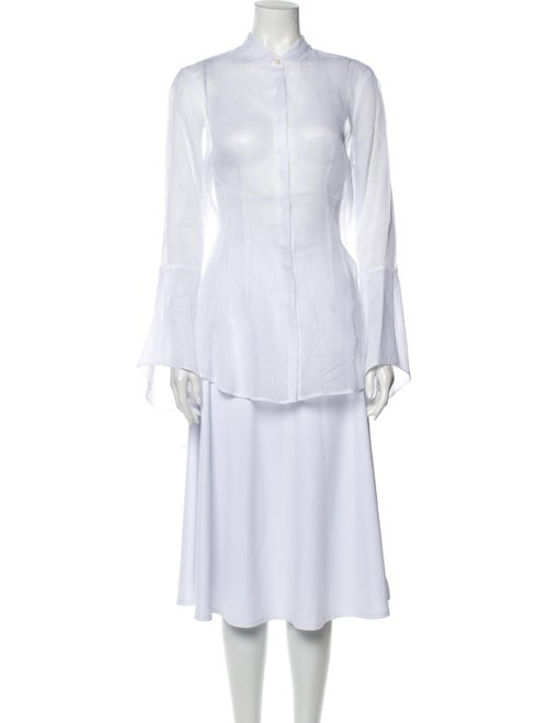 White Story Long Sleeve Tunic w/ Tags White