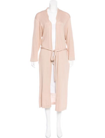Lauren Manoogian  Rib Knit Longline Cardigan None
