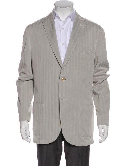 L.b.m. 1911 Striped Sport Coat Grey