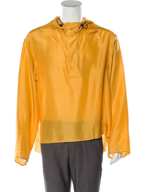 Wales Bonner Silk Pullover Hoodie w/ Tags
