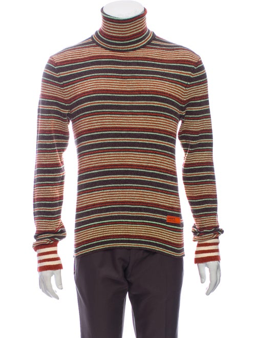 Wales Bonner Striped Turtleneck Pullover w/ Tags