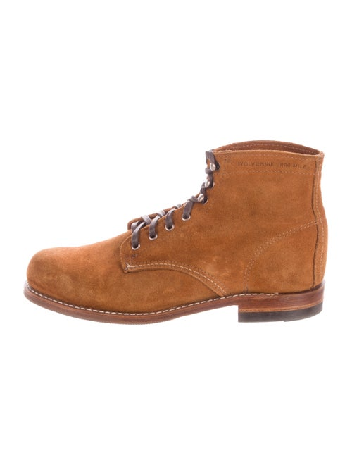 Wolverine Suede Ankle Boots