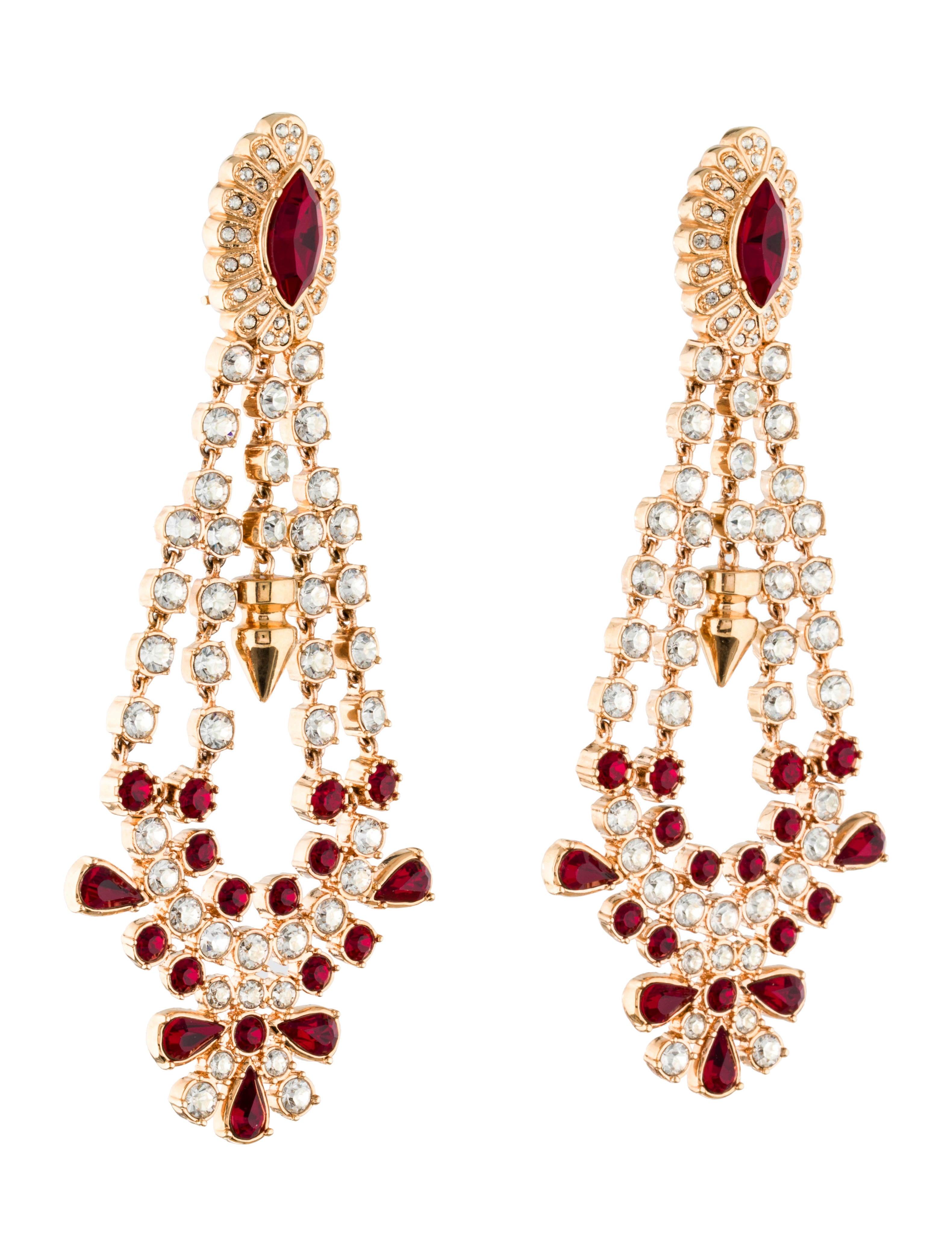 Mawi Crystal Chandelier Earrings Earrings WWM