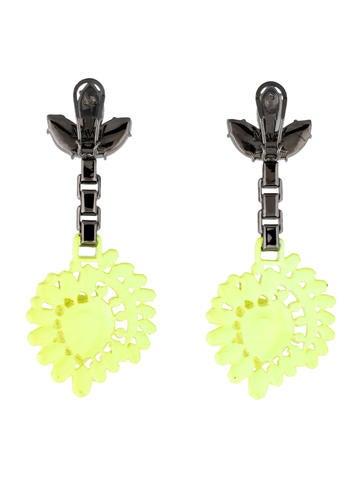 Mawi Neon Yellow Honey b Earrings Earrings WWM #0: WWM 4 product