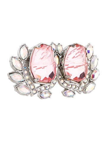 Pink Double Flower Ring w/ Tags