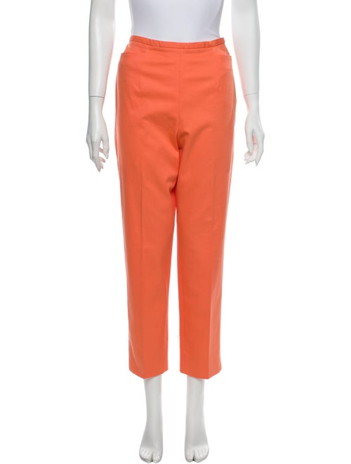 Worth Straight Leg Pants Orange