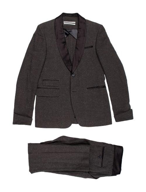 Robert Geller Two-Piece Suit Set grey