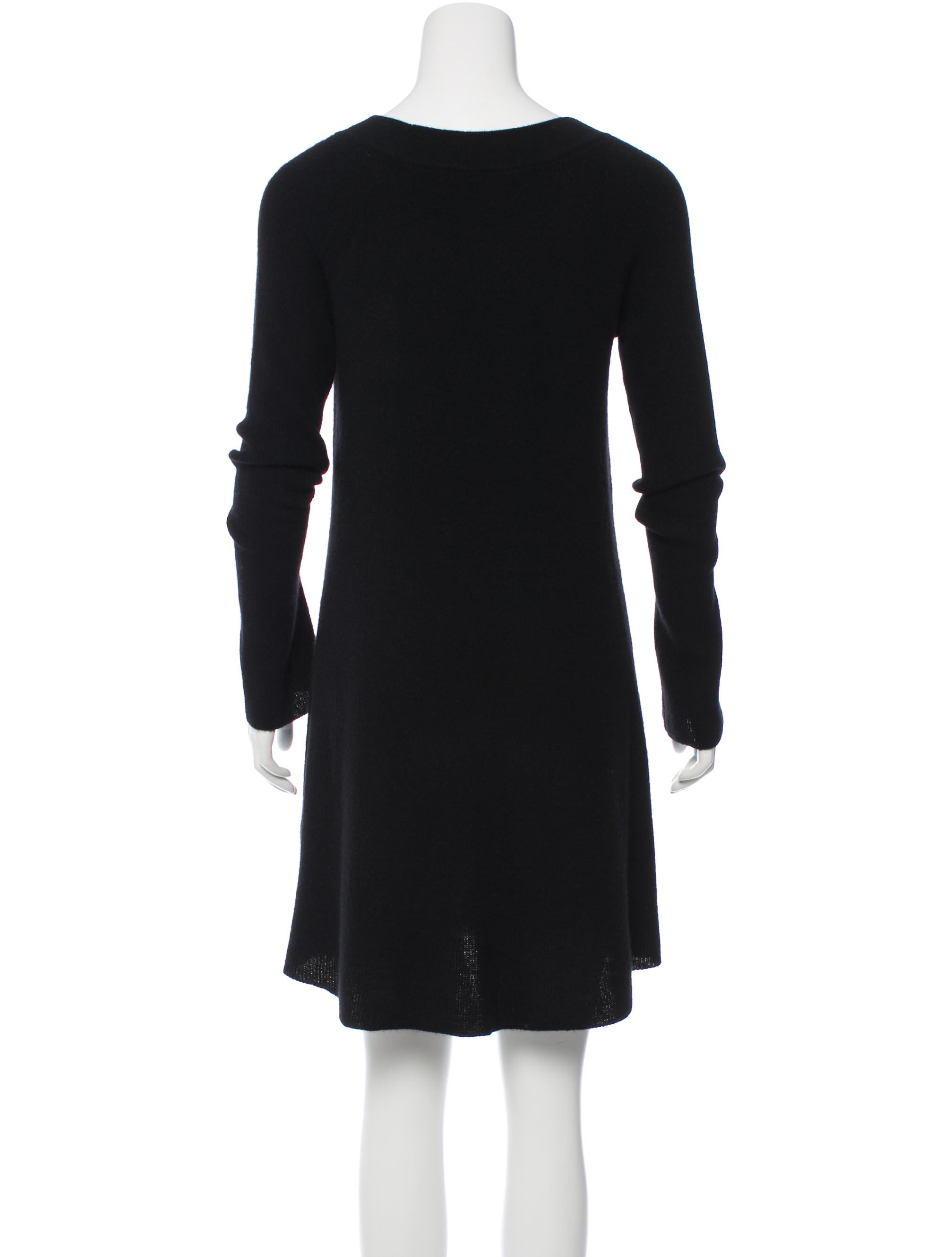White Warren Cashmere Sweater Dress W Tags Clothing
