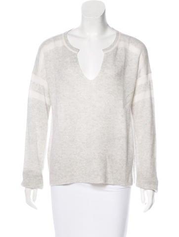 White + Warren Long Sleeve Sweater None