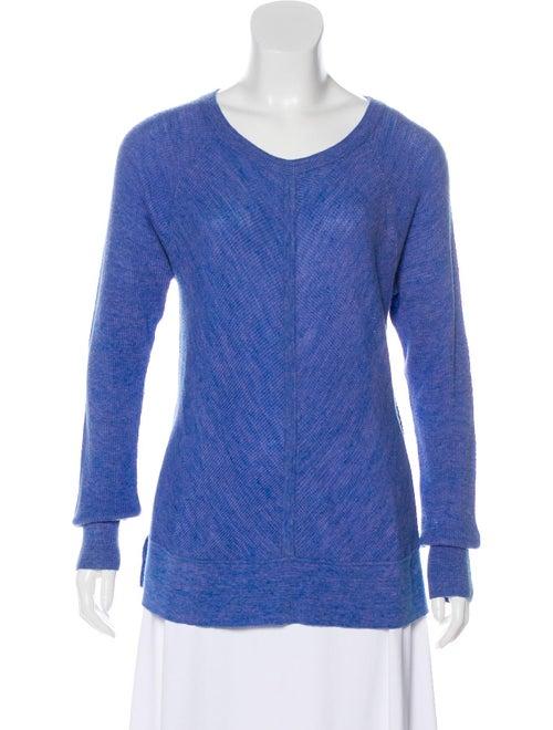 White + Warren Textured Lightweight Knit Sweater B