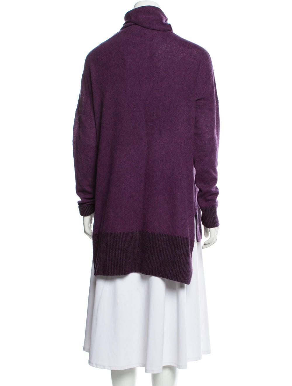 White + Warren Cashmere Turtleneck Sweater White - image 3