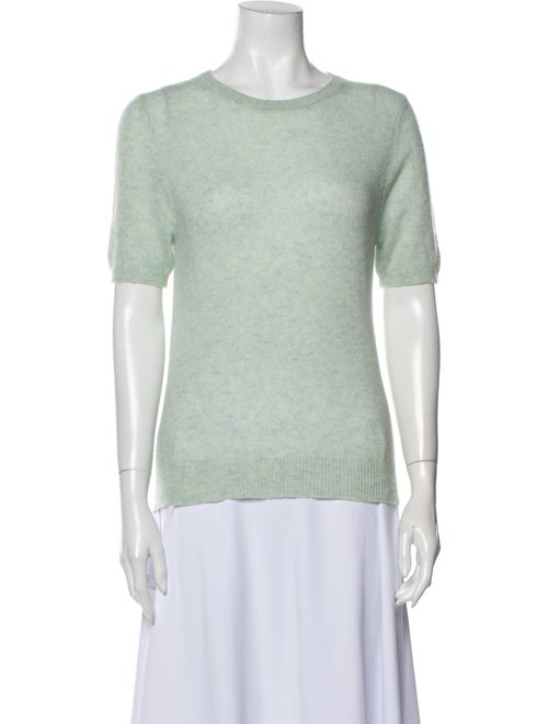 White + Warren Cashmere Crew Neck T-Shirt White