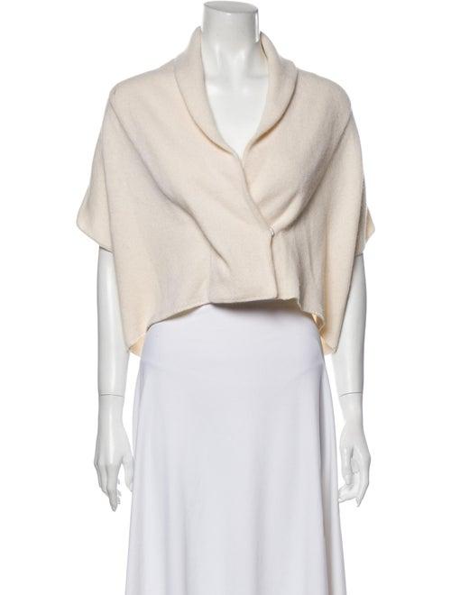 White + Warren Cashmere Sweater White