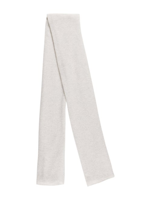 White + Warren Knit Scarf grey