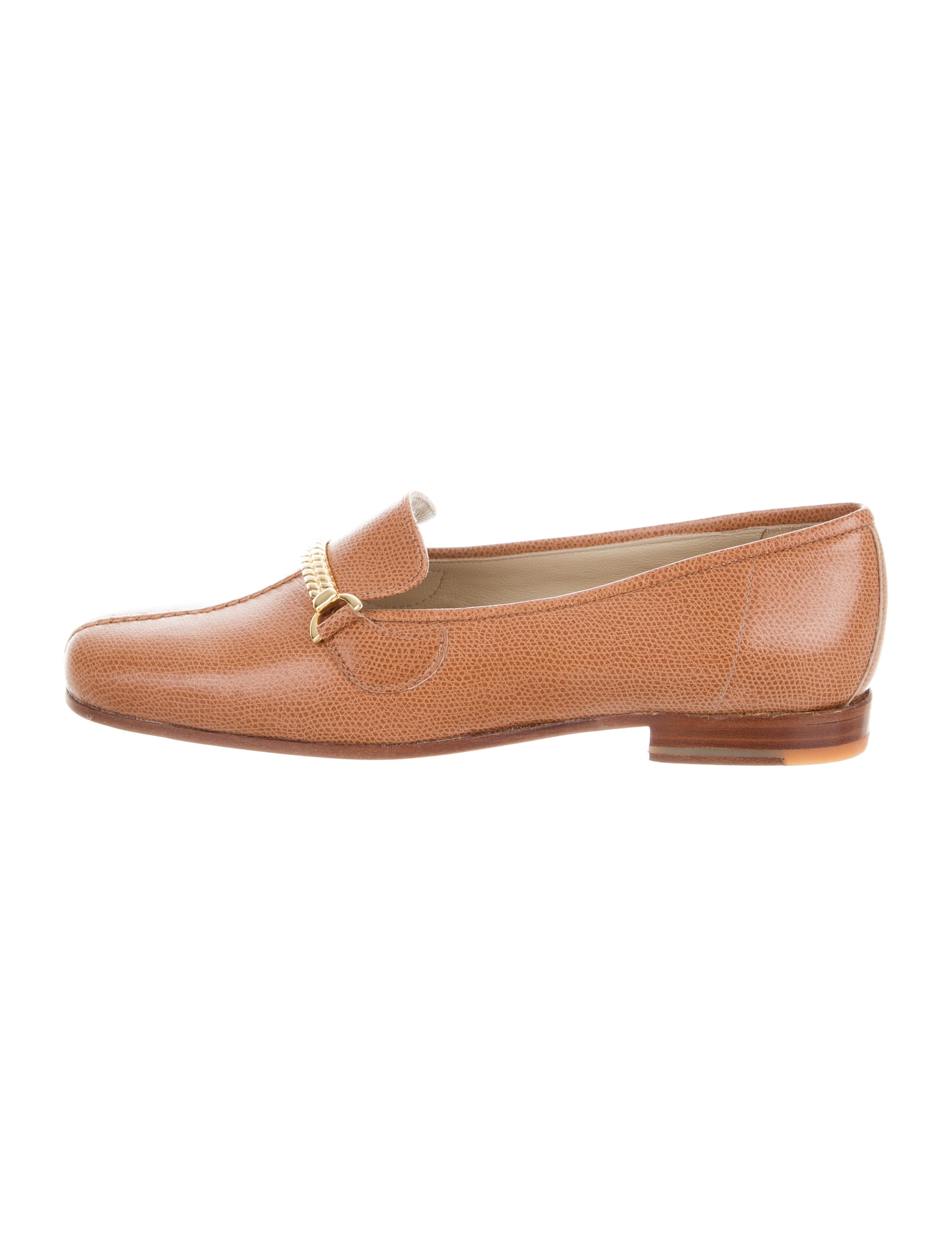 Stubbs & Wootton Leather Chain-Link Loafers buy cheap best store to get cheap low price pick a best cheap price xfPvQrycK2