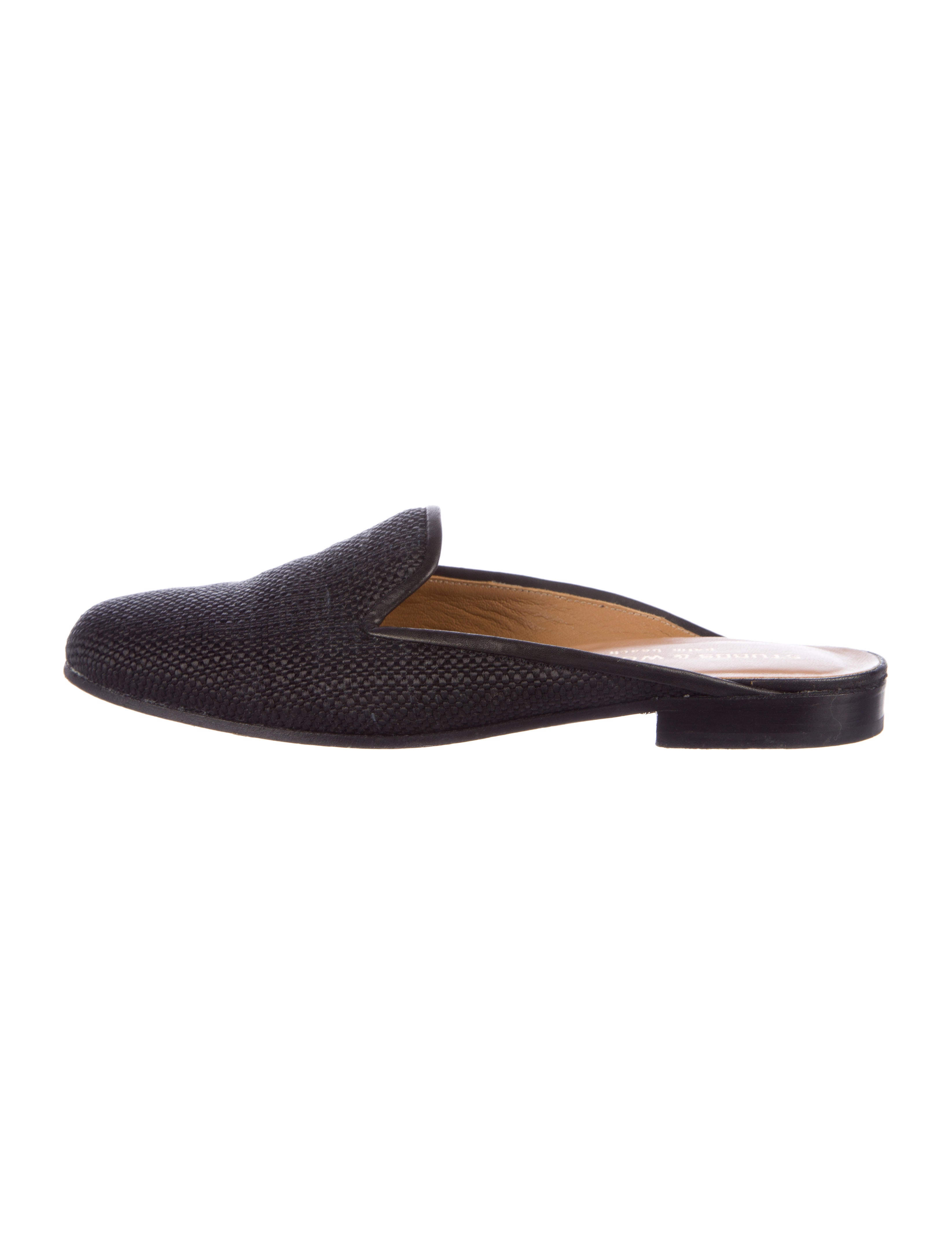 Stubbs & Wootton Woven Round-Toe Mules outlet looking for outlet high quality cheap sale newest from china low shipping fee discount eastbay ifRcQIv0I