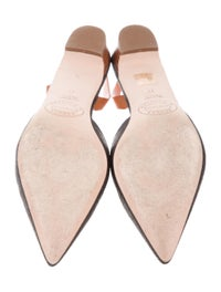 Slingback Pointed-Toe Pumps image 5