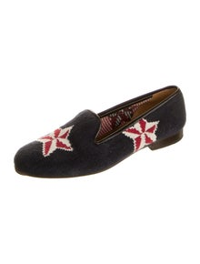 Stubbs & Wootton Printed Loafers