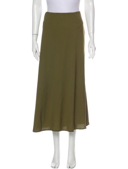 Shaina Mote Midi Length Skirt Green