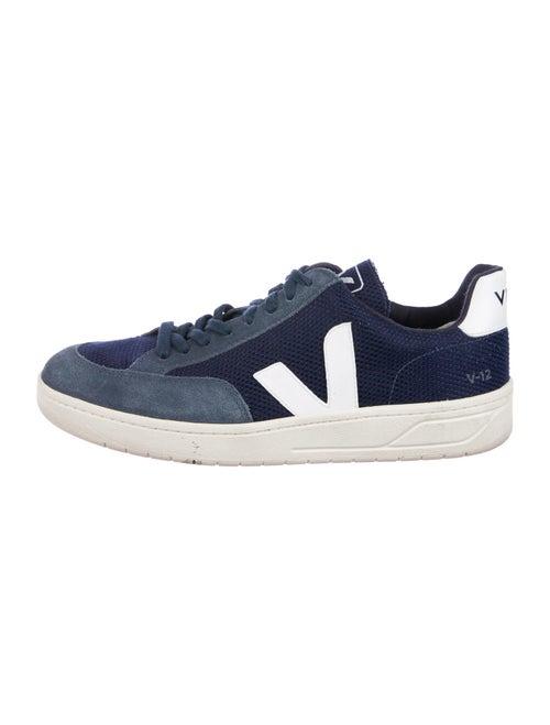 Veja Printed Sneakers Blue
