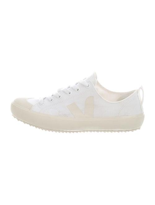 Veja Colorblock Pattern Sneakers White