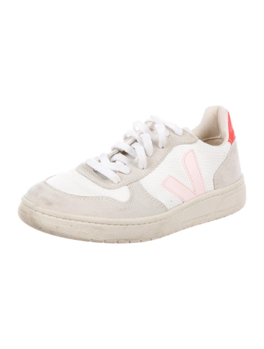 Veja Graphic Print Sneakers - image 2