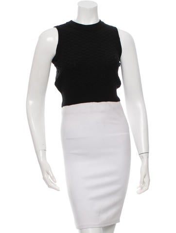 Nomia Knit Crop Top None