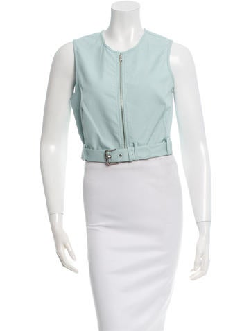 Nomia Belted Crop Top w/ Tags None