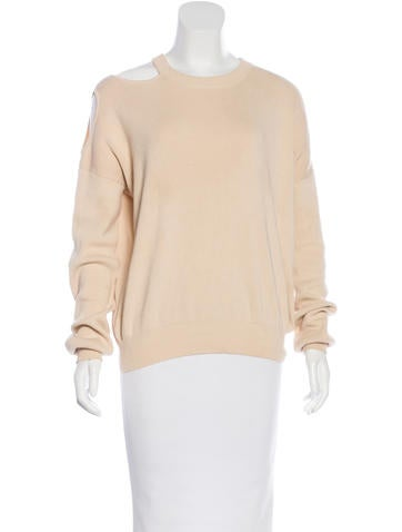 Nomia Cut Out Long Sleeve Sweater None