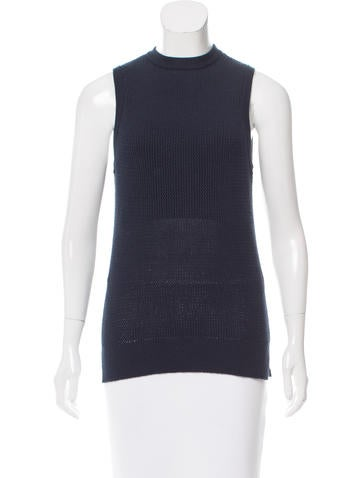 Nomia Crewneck Sleeveless Sweater None