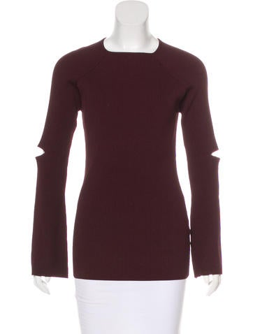 Nomia Rib Knit Long Sleeve Top w/ Tags None