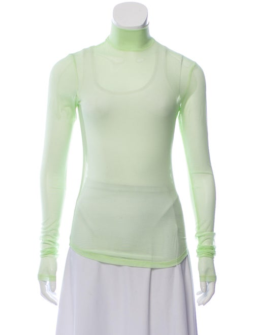 Nomia Turtleneck Long Sleeve Top Green