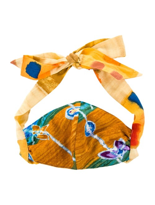 Orange Mask with Bows