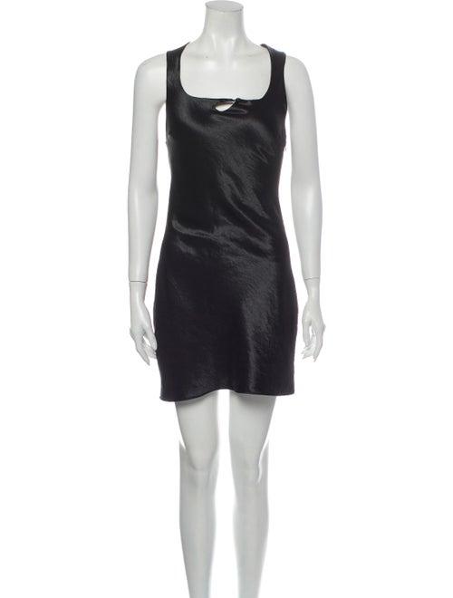 Collina Strada Wave Mini Dress w/ Tags Black