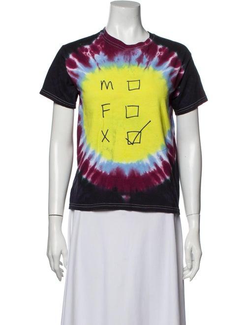 Collina Strada Tie dye Tie-Dye Print T-Shirt Blue