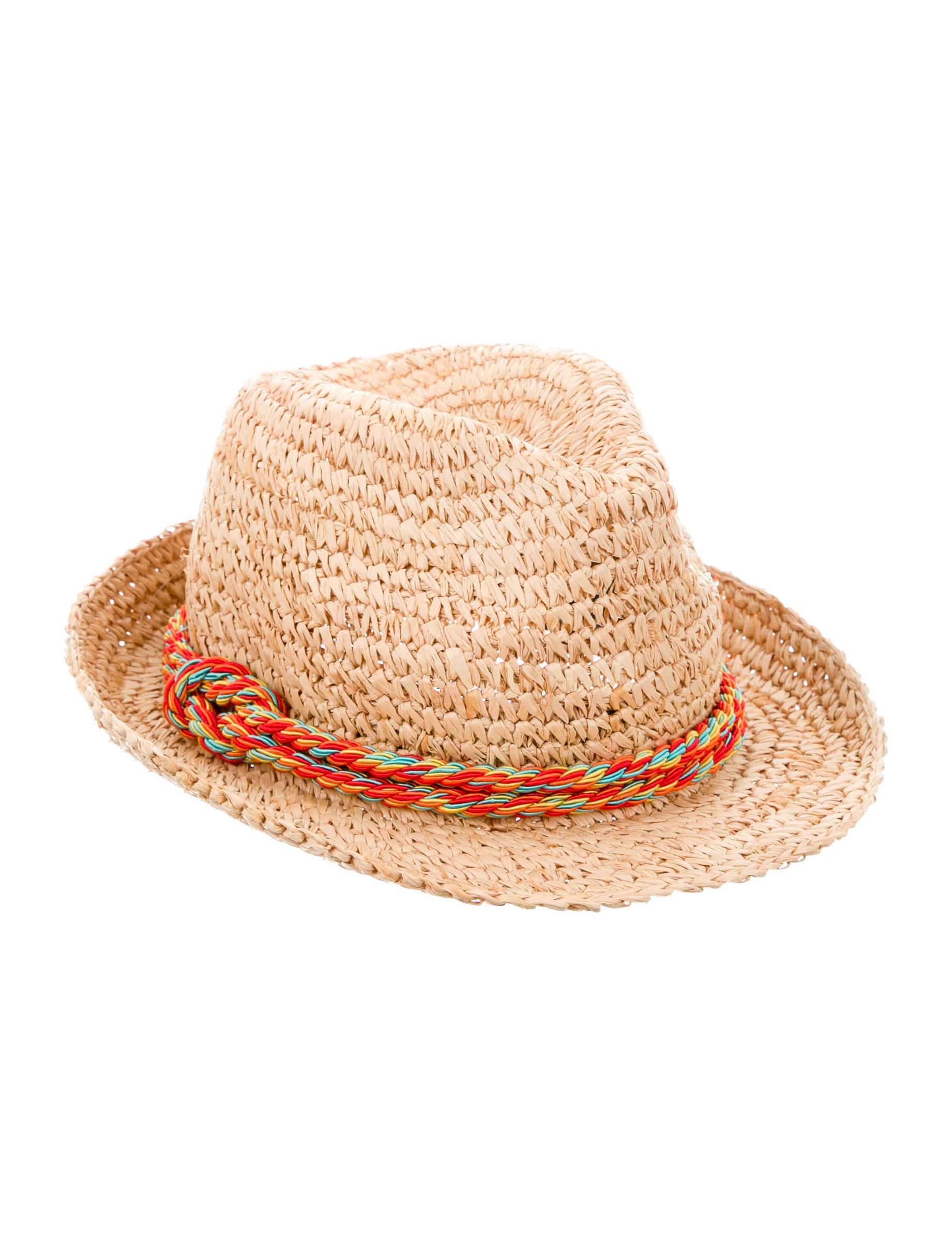 Tracy Watts Straw Fedora Hat - Accessories - WXH20015  3f90f47af7f
