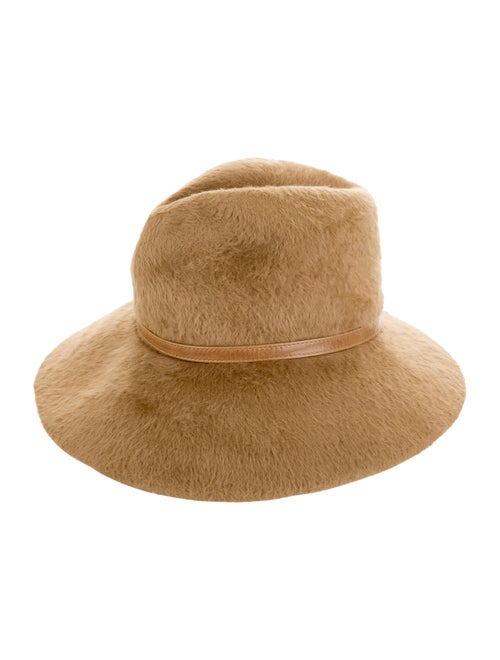 Tracy Watts Wool Fedora Hat Tan