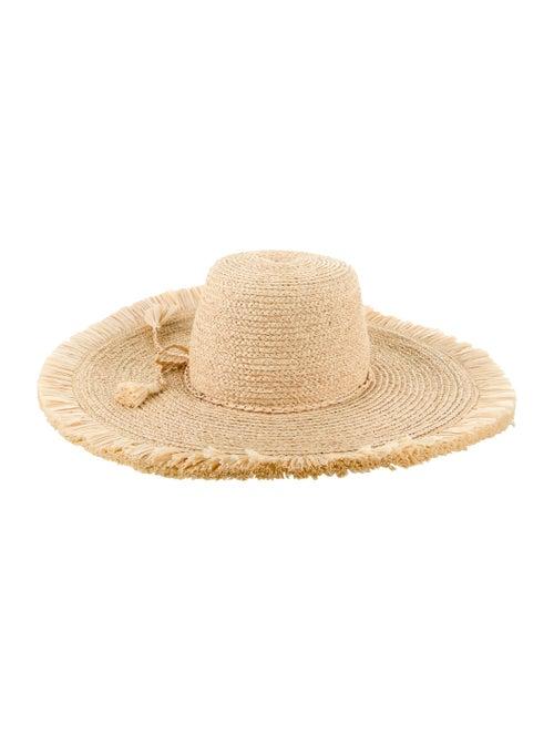 Tracy Watts Raffia Sun Hat