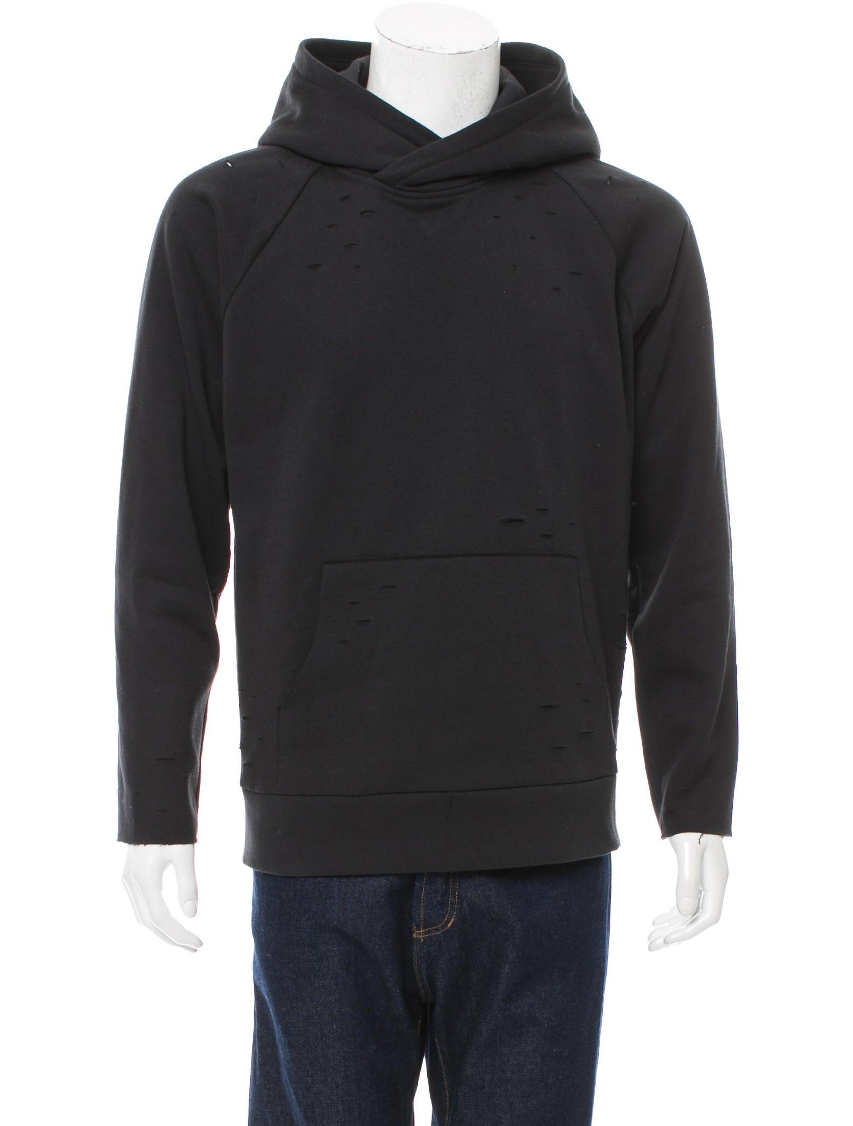 Distressed hoodies