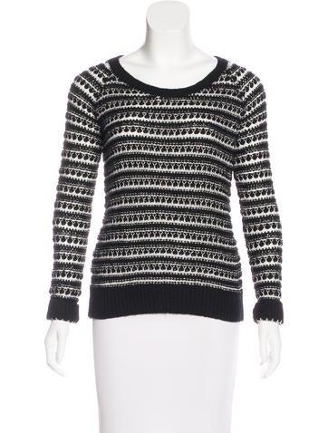 Splendid Patterned Knit Sweater None