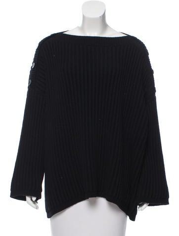 SportMax Rib Knit Sweater None