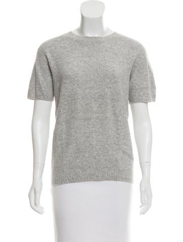 Short Sleeve Knit Top None